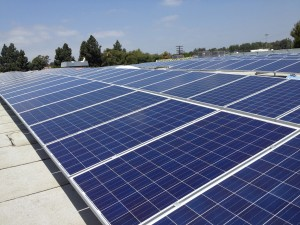 Commerical Solar Installation