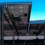 The underside of solar.