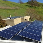 Solar Panel in the Surburbs