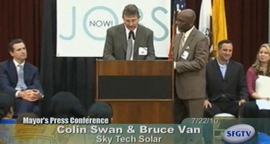 Mayor Newsom Highlights The Success Of JobsNow! Program